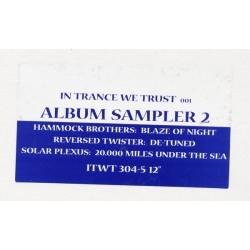 Various ‎– In Trance We Trust 001 Album Sampler 2