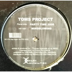 Toms Project - Party Time 2000 (BASUCOS¡¡ PORTADA ORIGINAL¡¡)