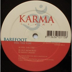 Barefoot ‎– Feel The Fire