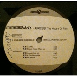Pro-Gress ‎– The House Of Pain