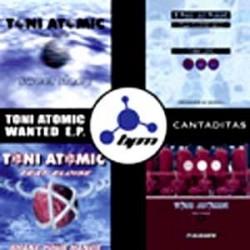 Toni Atomic - Toni Atomic Wanted E.P. Cantaditas(2 MANO,4 PELOTAZOS)