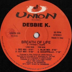 Debbie K – Breath Of Life