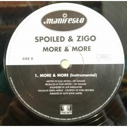 Spoiled & Zigo – More & More (INSTRUMENTAL)