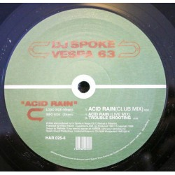 DJ Spoke vs. Vespa 63 ‎– Acid Rain