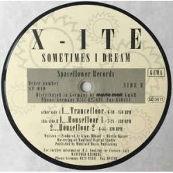 X-Ite ‎– Sometimes I Dream