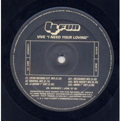 Vive – I Need Your Loving