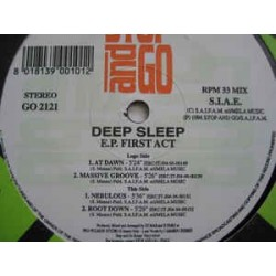 Deep Sleep ‎– EP First Act (ROLLAZO)