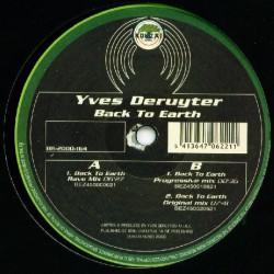 Yves Deruyter – Back To Earth (EDICIÓN ALEMANA)