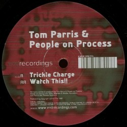 Tom Parris & People On Process ‎– Trickle Charge