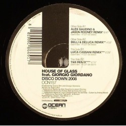 House Of Glass Feat. Giorgio Giordano – Disco Down 2008