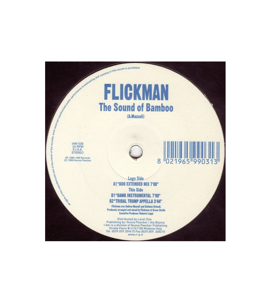 Flickman – The Sound Of Bamboo