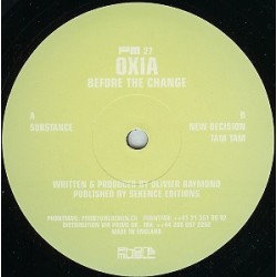 Oxia – Before The Change