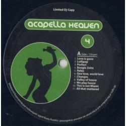 Acapella Heaven Vol. 4