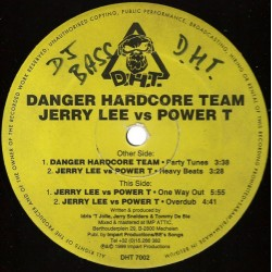 Danger Hardcore Team / Jerry Lee vs Power T ‎– Party Tunes
