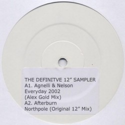 "Various ‎– The Definitive 12"" Sampler"