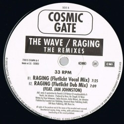 Cosmic Gate ‎– The Wave / Raging (The Remixes)