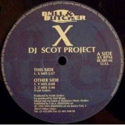 DJ Scot Project ‎– X