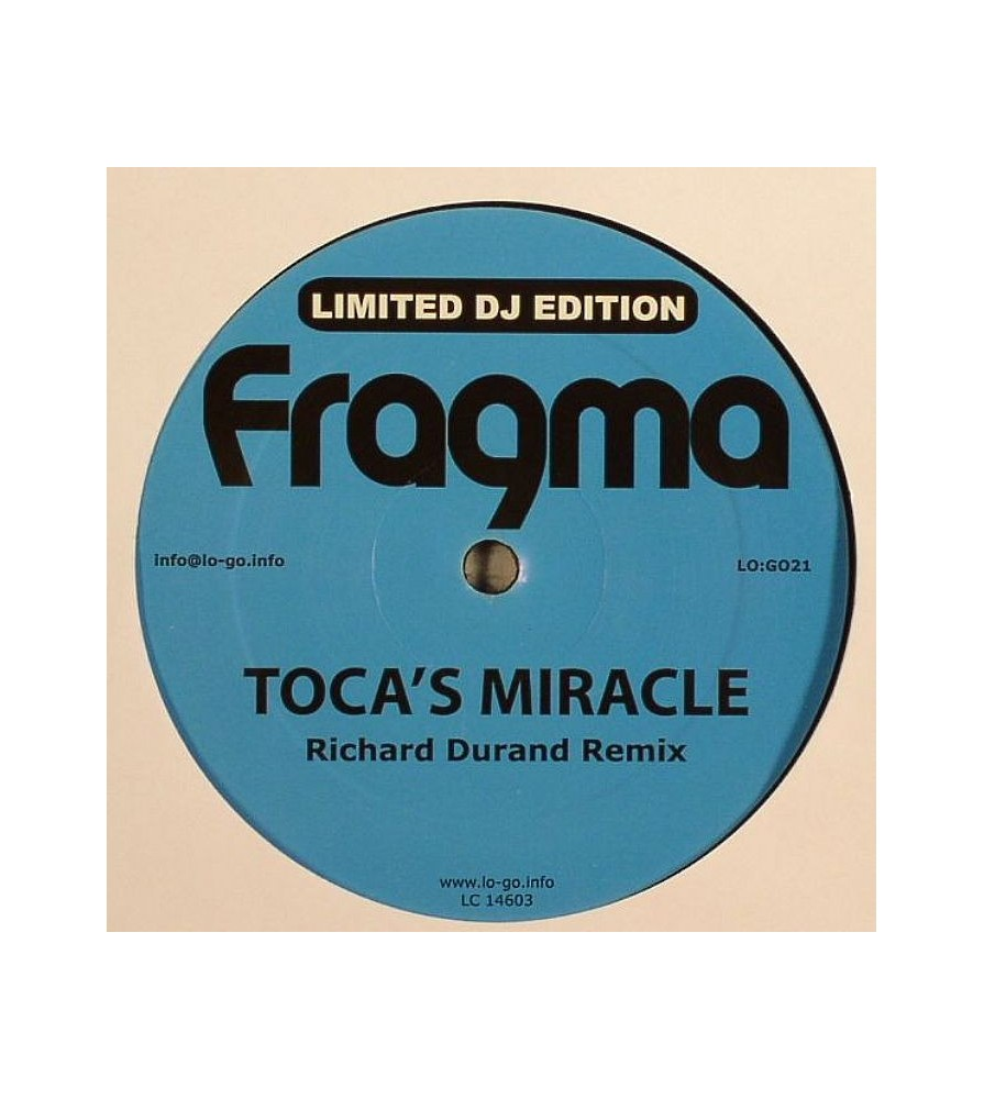 Fragma – Toca's Miracle / Deeper