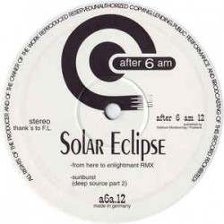 Solar Eclipse ‎– Sunburst / From Here To Enlightment