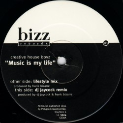 Creative House Boyz ‎– Music Is My Life