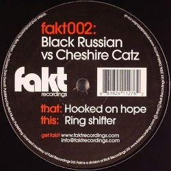Black Russian vs. Cheshire Catz ‎– Hooked On Hope / Ring Shifter