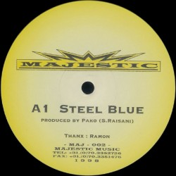 Majestic Records - Steel Blue