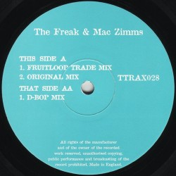 The Freak & Mac Zimms ‎– Distant Stab (TRIPOLI TRAX)
