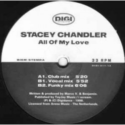 Stacey Chandler ‎– All Of My Love
