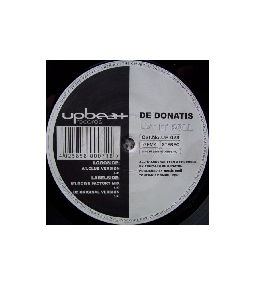De Donatis – Let It Roll