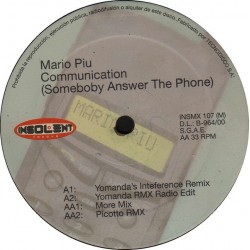 Mario Piu - Communication (INSOLENT MUSIC)