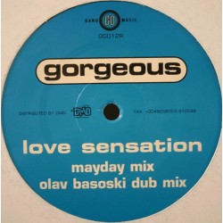 Gorgeous ‎– Love Sensation (Remixes)