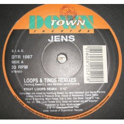 Jens – Loops & Tings (Remixes) (2 MANO,COPIA IMPORT.TEMAZO¡¡)