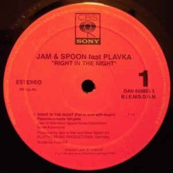 Jam & Spoon ‎– Right In The Night (Fall In Love With Music) (Flamenc-O-Matic Fairytale)