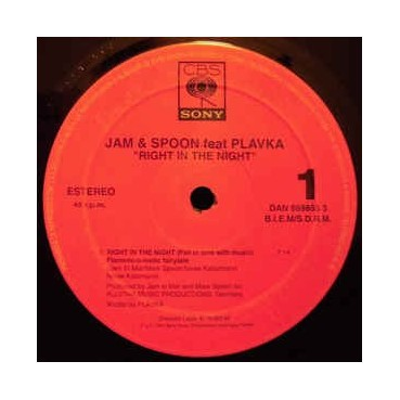 Jam & Spoon – Right In The Night (Fall In Love With Music) (Flamenc-O-Matic Fairytale)