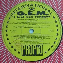 GEM - I Feel You Tonight (IMPORT)