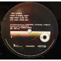 Ken Laszlo – What A Lonely Night