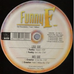 Funny F - Funky / Creator(PELOTAZO COLISEUM/CHOCOLATE 98¡¡ JOYA¡¡)