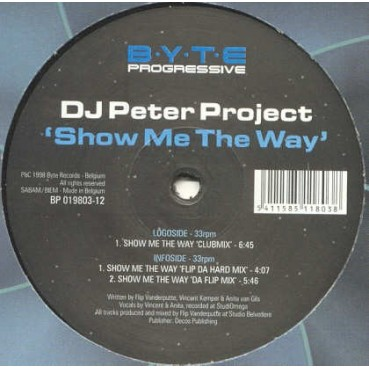 DJ Peter Project - Show Me The Way(CHOCOLATE 98 BY JOSE CONCA¡¡)