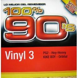 PG2 / Kike Boy - 100% 90's Vol. 3 (Vinyl 3)