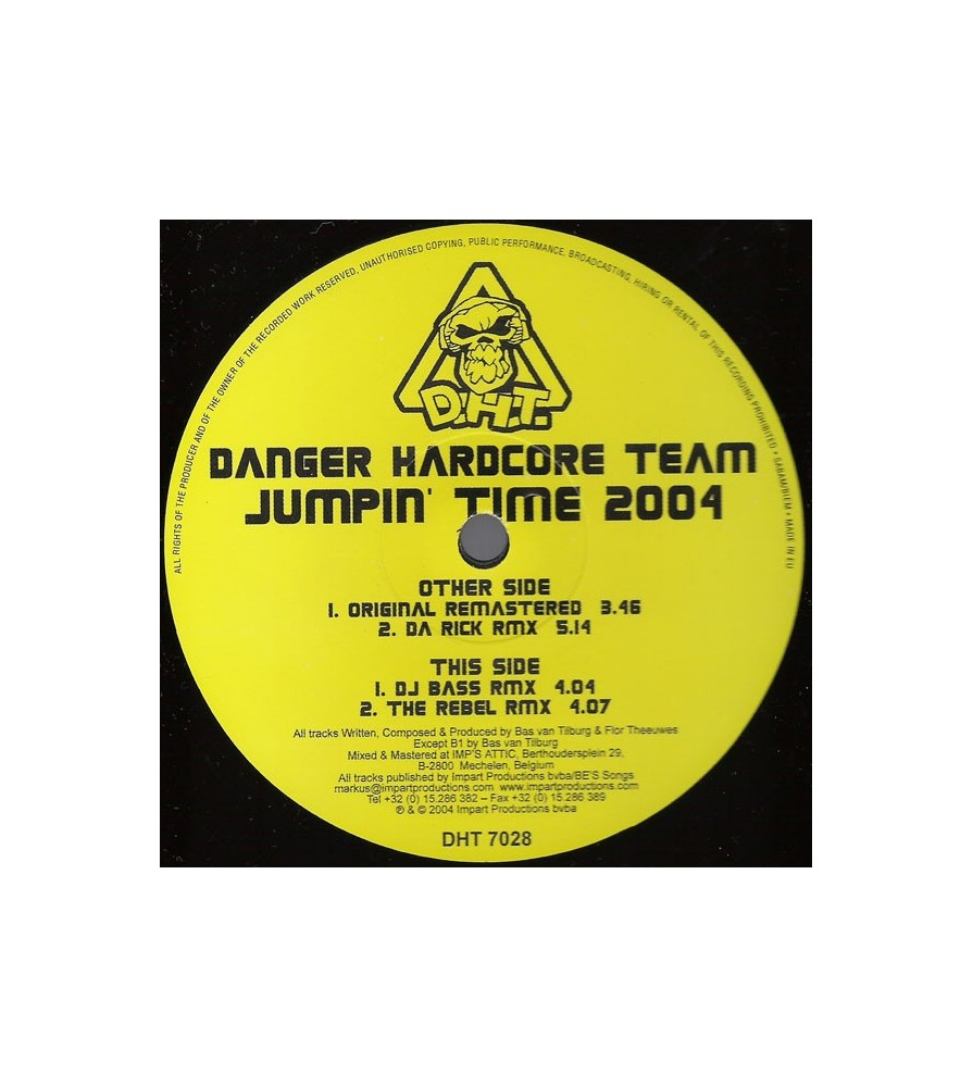 Danger Hardcore Team - Jumpin' Time 2004