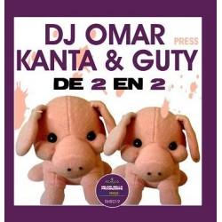 DJ Omar  pres. DJ Kanta & DJ Guty - De 2 En 2(REPOSICIÓN,CABROTE¡¡)
