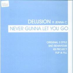 Delusion Ft Jenna C - Never Gunna Let You Go (TEMAZO CANTADITO¡¡)