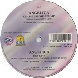 Angelica - Gimme Gimme Gimme(TEMAZO ITALO,COPIA IMPORT SELLO SAIFAM¡¡)