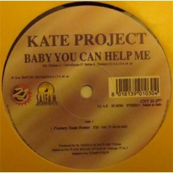 Kate Project - Baby You Can Help Me (TEMAZO ITALO,NUEVECITO¡¡)