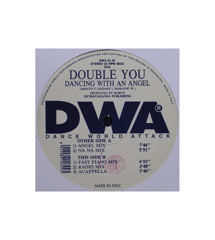 Double You - Dancing With An Angel(2 MANO,COPIA IMPORT¡)