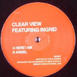 Clear View Featuring Ingrid-Here I Am / Angel(CANTADITO INGLES MUY BUENO¡¡¡ RECOMENDADO DJ RAI¡)