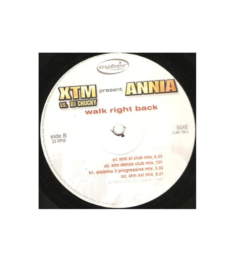 XTM & DJ Chucky Present Annia - Walk Right Back(2 MANO,CANTADITA MAKINERA¡)