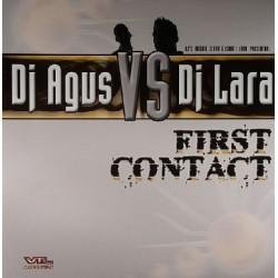 DJ Agus VS DJ Lara - First Contact(2 MANO,HARDHOUSE MUY BUENO¡¡)