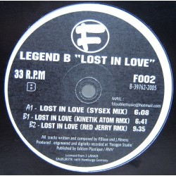 Legend B - Lost In Love (TEMAZO REMEMBER)