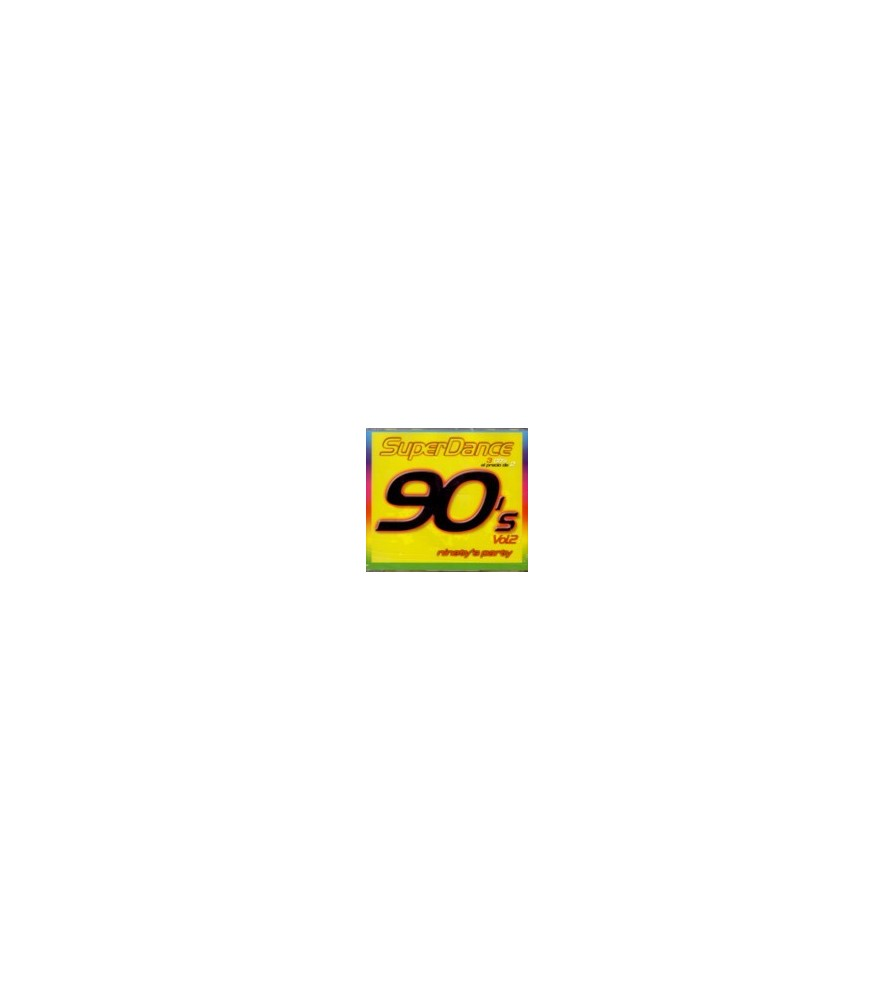 SuperDance 90's Vol.2 DISCO 2(2 MANO,REMEMBER 90'S¡)